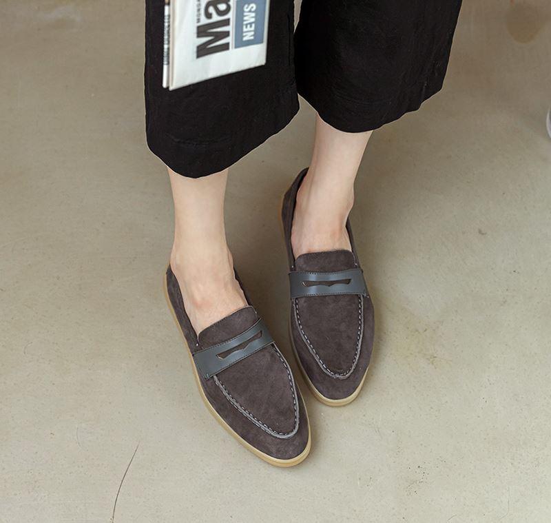 더보이더걸WS-6603 양가죽 여자 스웨이드 페니 로퍼 가을 - 더보이더걸, 67,800원, 로퍼/옥스포드, 로퍼