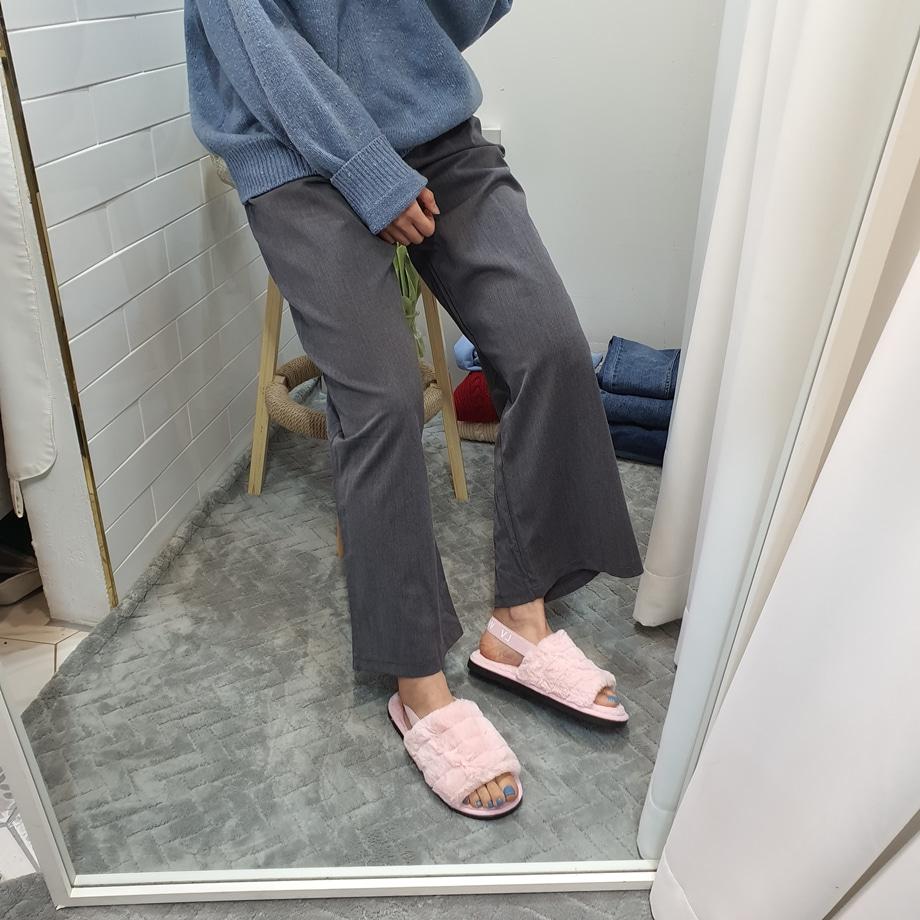 WS-6891 여자 털실내화 슬링백 샌들 사무실 겨울 - 더보이더걸, 29,800원, 샌들/슬리퍼, 샌들